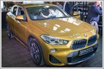 The brand new BMW X2 launched in Singapore