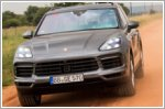 Final endurance test for the Cayenne Hybrid
