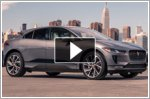 Three new Jaguar Land Rover cars in New York
