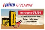 Cash vouchers and prizes worth up to $1,154 to be won