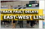 Track fault causes delays on East-West Line from Jurong East to Joo Koon