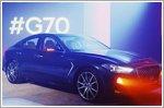 Genesis launches the 2019 G70 sedan in Russia