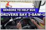 Sensors to help bus drivers say I-SAW-U