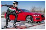 New Jaguar XE 300 Sport wins gripping ice race
