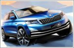 Skoda China releases sketches of a new mainstream city SUV