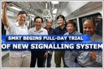 SMRT begins full-day trial of new train signalling system
