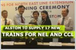 Alstom to supply 17 new MRT trains for North-East Line and Circle Line