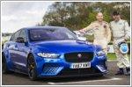 Racing legends rate Jaguar XE SV Project 8