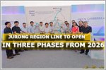 Jurong Region Line to open in three phases from 2026