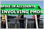 Spike in accidents involving PMDs