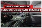 Uber's unhired fleet floods used car market