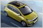 Peugeot 108 lineup gets new colours and features