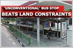 'Unconventional' bus stop beats land constraints in innovative way: Ministry