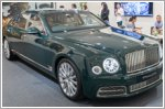 Bentley showcases Mulsanne Extended Wheelbase