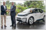 German Embassy embraces sustainability with BMW i3