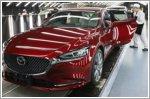 Mazda celebrates 50 million vehicles made in Japan