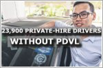 40 percent of private-hire drivers without vocational licence
