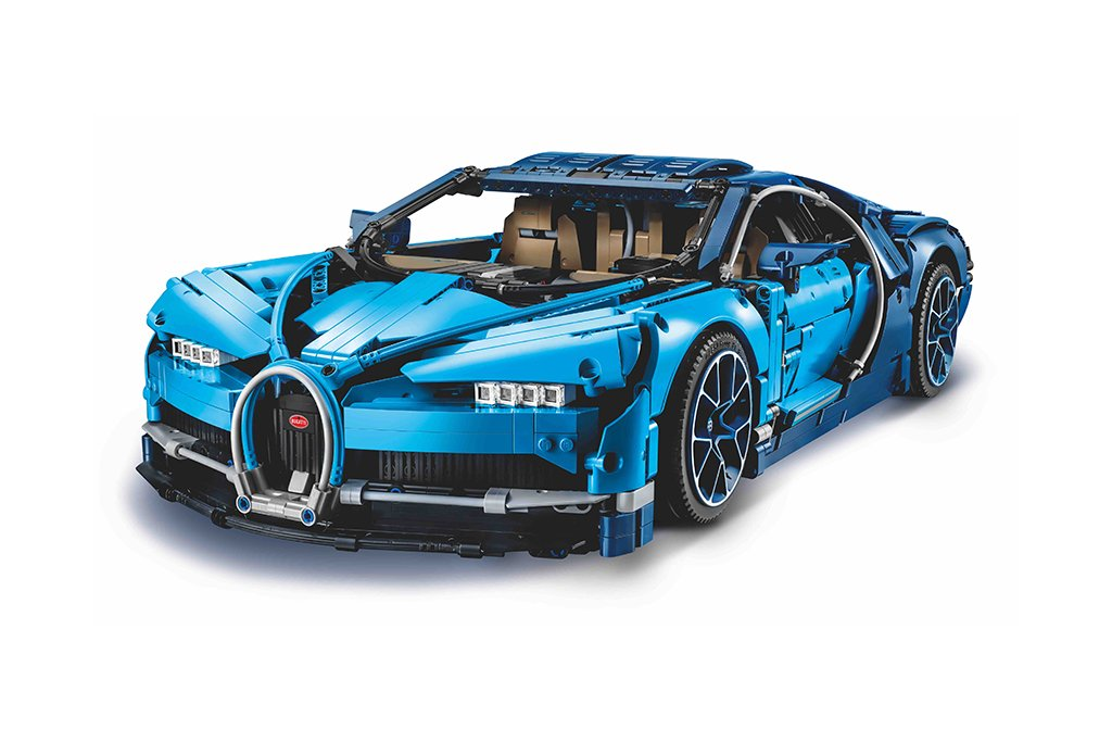 The highly anticipated LEGO Technic Bugatti Chiron