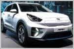 Kia Niro EV revealed at Busan International Motor Show