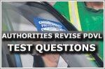 Authorities revise PDVL test questions