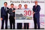 Porsche celebrates double milestone anniversaries with charity gala dinner