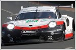 Porsche locks out first row at Le Mans