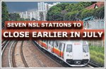 Seven North-South Line stations to close earlier on Fridays, Saturdays in July