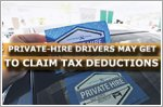 Private-hire drivers may get to claim some tax deductions