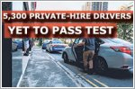 5,300 private-hire car drivers yet to pass vocational licence test