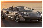 McLaren donates bespoke 570S Spider to Elton John's AIDS Foundation