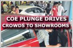 COE price plunge drives crowds to car showrooms