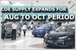 COE supply expands for Aug to Oct period