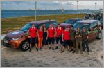 Land Rover Singapore welcomes Russian team travelling the world