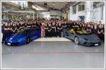Lamborghini hits production milestones