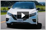 Nissan unveils the Leaf NISMO