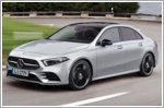 Mercedes-Benz introduces the new A-Class sedan