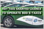 HDT Singapore Taxi granted service operator licence for at least 800 e-taxis