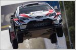 Toyota Gazoo Racing celebrates Rally Finland victory