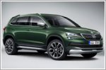 Skoda releases Karoq Scout fully equipped for off-road driving