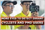 More eyes to help detect errant cyclists and PMD users