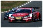 Audi DTM misses podium finish at Brands Hatch