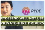 RydeSend will not use private-hire drivers or cabbies