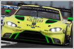 Podium joy for Aston Martin as new Vantage makes progress