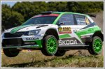 Double victory in WRC-2 for Skoda