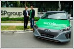 Grab invests in new electric vehicle fleet enabled by SP Group