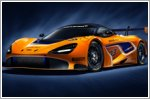 McLaren 720S GT3 race car on track for 2019 debut