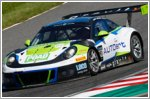 Porsche 911 GT3 R finish 11 and 12 in Japan