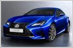 Lexus announces new version of the RC Coupe