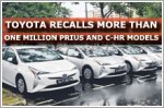 Toyota recalls one million Prius and C-HR models
