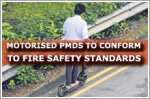 Motorised PMDs to conform to safety standard to minimise fire risks